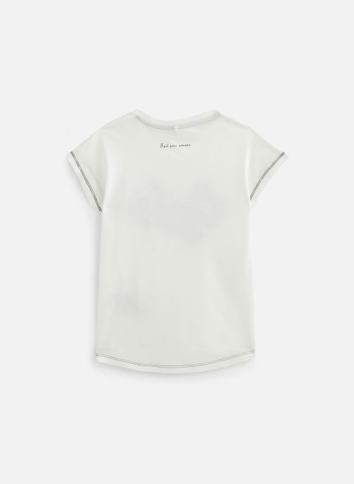 Vêtements Name it Nkfbanjara Ss Top Blanc vue bas / vue portée sac