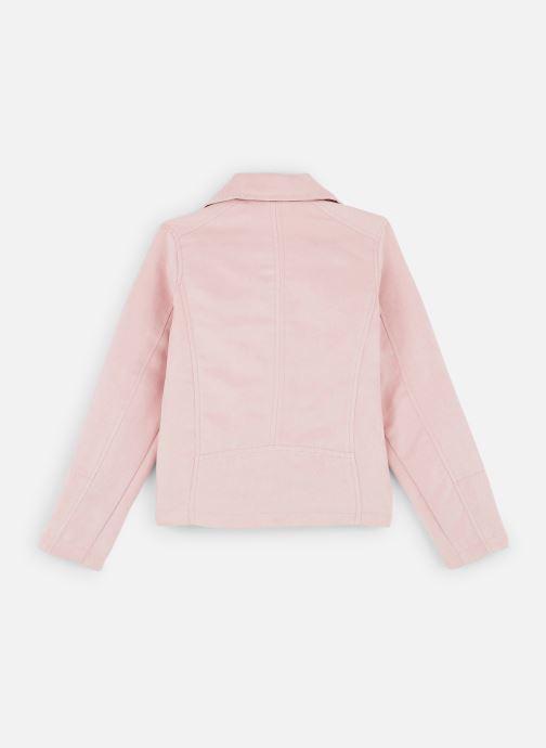 Vêtements Name it Nkfmellen Jacket Rose vue bas / vue portée sac