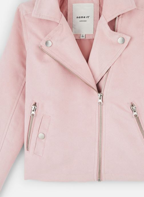 Kleding Name it Nkfmellen Jacket Roze model