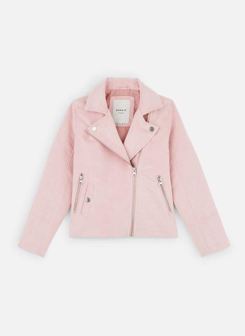 Vêtements Name it Nkfmellen Jacket Rose vue détail/paire