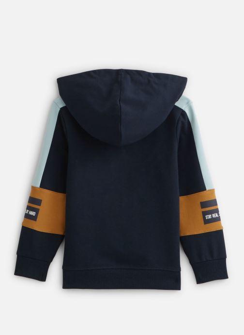 Vêtements Name it Nmmbosse Ls Sweat Card Wh Unb Bleu vue bas / vue portée sac