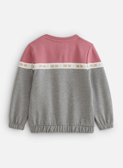 Vêtements Name it Nmfbosynne Sweat Card Unb Rose vue bas / vue portée sac