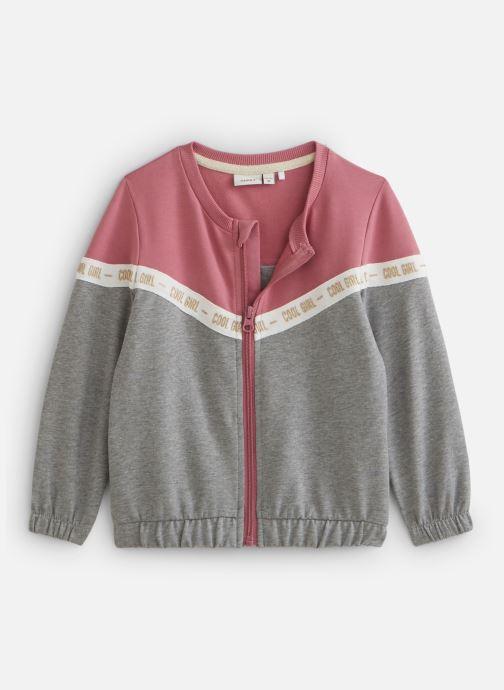 Vêtements Name it Nmfbosynne Sweat Card Unb Rose vue détail/paire