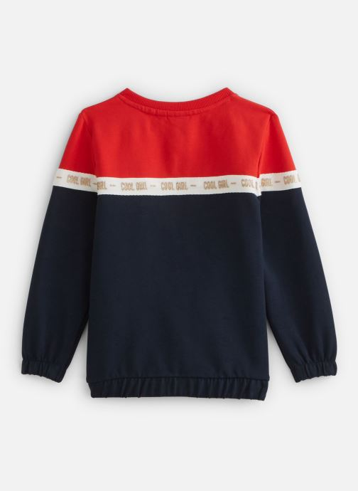 Vêtements Name it Nmfbosynne Sweat Card Unb Rouge vue bas / vue portée sac