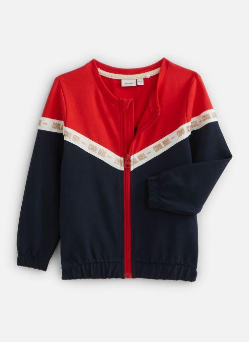 Vêtements Name it Nmfbosynne Sweat Card Unb Rouge vue détail/paire