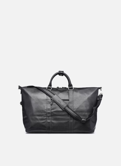 Reisegepäck Hexagona LEATHER SAC WEEK END schwarz ansicht von vorne
