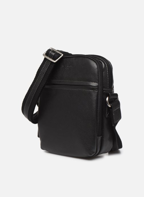 Men's bags Hexagona LEATHER CROSS BODY Black model view