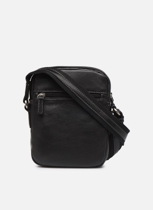 Men's bags Hexagona LEATHER CROSS BODY Black front view
