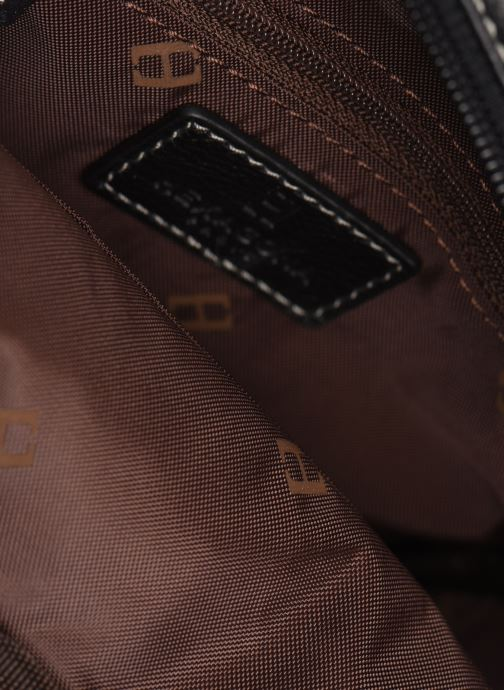 Men's bags Hexagona LEATHER CROSS BODY Black back view