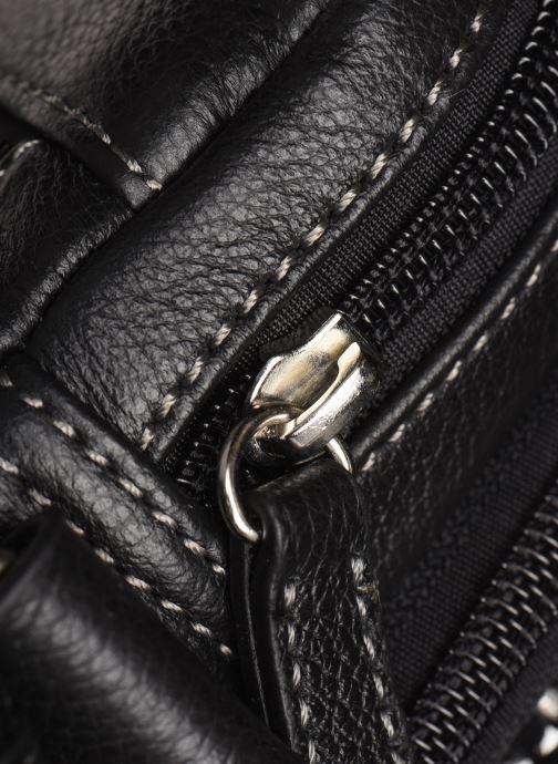 Bolsos de hombre Hexagona LEATHER CROSS BODY Negro vista lateral izquierda