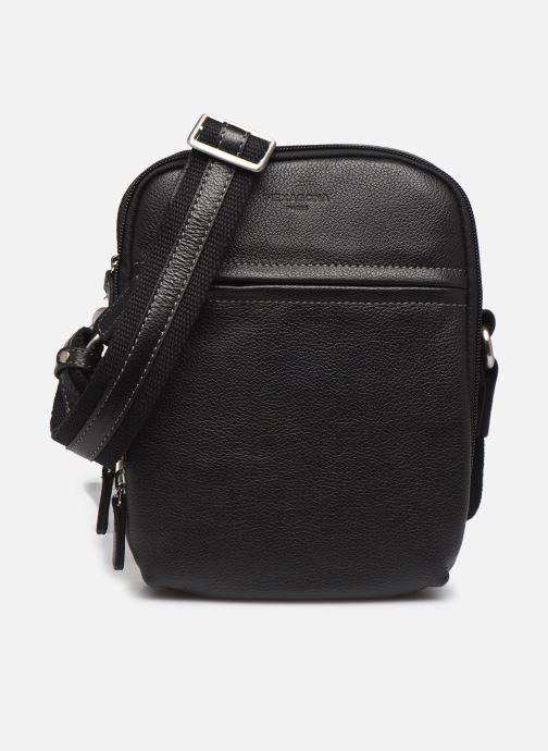 Men's bags Hexagona LEATHER CROSS BODY Black detailed view/ Pair view