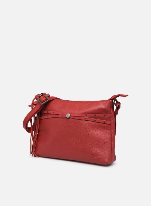 Bolsos de mano Hexagona APPALOOSA CROSSBODY Rojo vista del modelo
