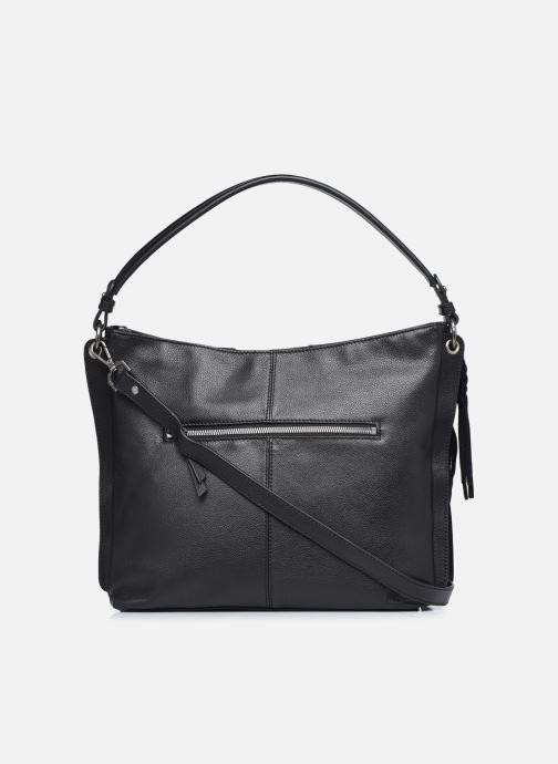 Handtaschen Hexagona APPALOOSA PORTE EPAULE schwarz ansicht von vorne