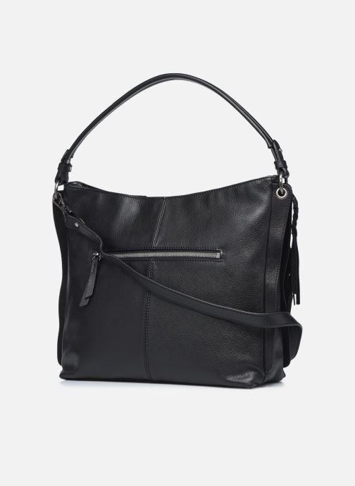 Handtaschen Hexagona APPALOOSA PORTE EPAULE schwarz ansicht von rechts