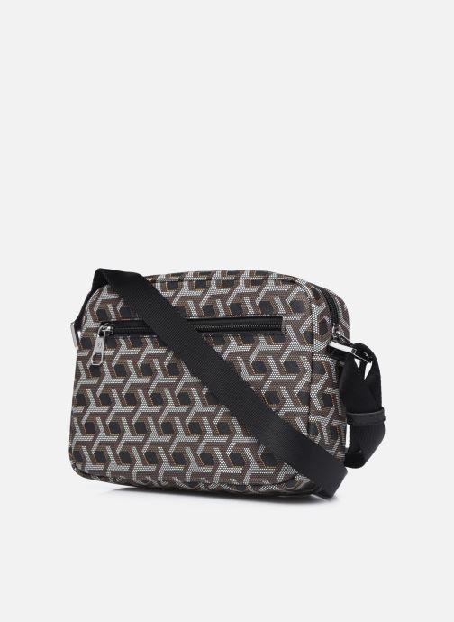 Handtaschen Hexagona SIGNATURE CROSSBODY schwarz ansicht von rechts
