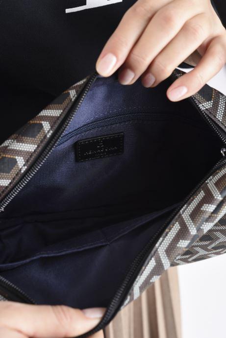 Handtaschen Hexagona SIGNATURE CROSSBODY schwarz ansicht von hinten