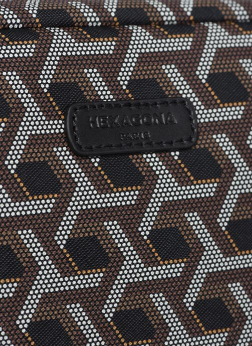 Handtaschen Hexagona SIGNATURE CROSSBODY schwarz ansicht von links