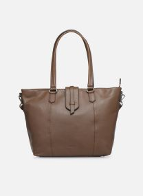 CONFORT CABAS ZIPPE LEATHER