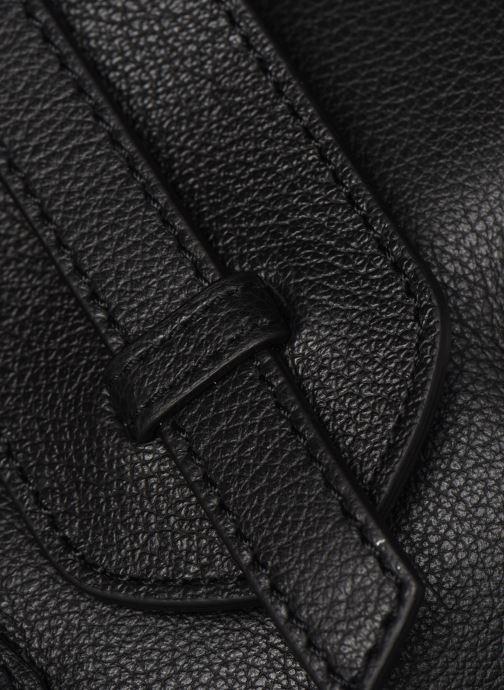 Sacs à main Hexagona CONFORT CABAS ZIPPE LEATHER Noir vue gauche