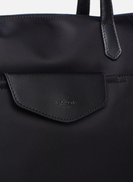 Sacs à main Hexagona Cabas Nylon Porté EPAULE Noir vue gauche