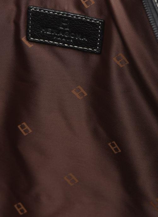 Sacs ordinateur Hexagona PORTE ORDINATEUR LEATHER A4 15' Noir vue derrière