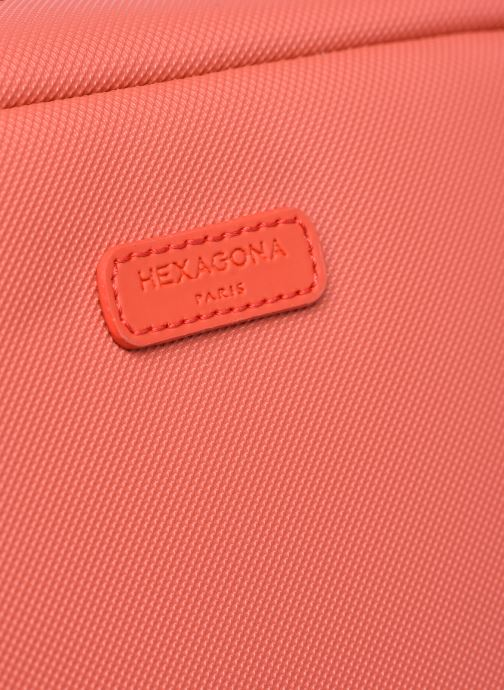 Reisegepäck Hexagona SERENA TROUSSE DE TOILETTE rosa ansicht von links
