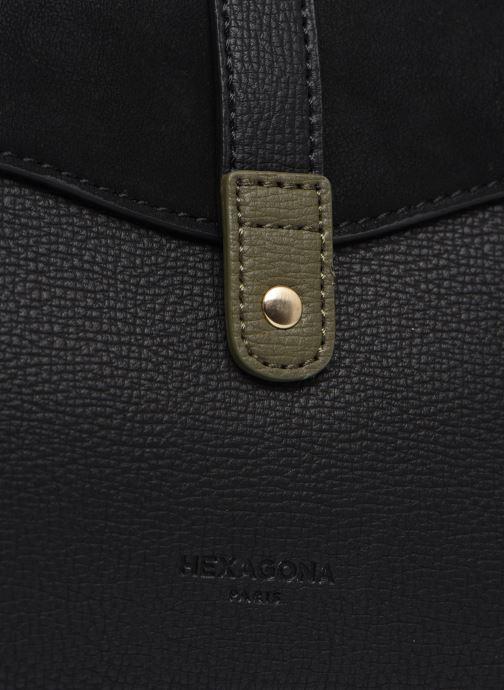Bolsos de mano Hexagona VAGUE PORTE EPAULE Negro vista lateral izquierda