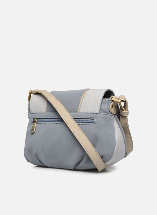 Sacs à main Hexagona VAGUE CROSS BODY Bleu vue droite