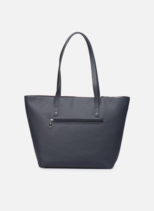 Bolsos de mano Hexagona GRAPHIC SHOPPING BAG Azul vista de frente