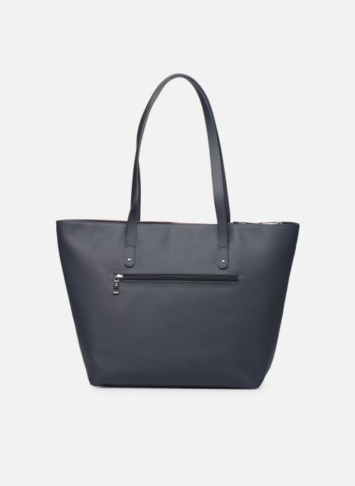 Bolsos de mano Hexagona GRAPHIC SHOPPING BAG Azul vista de frente
