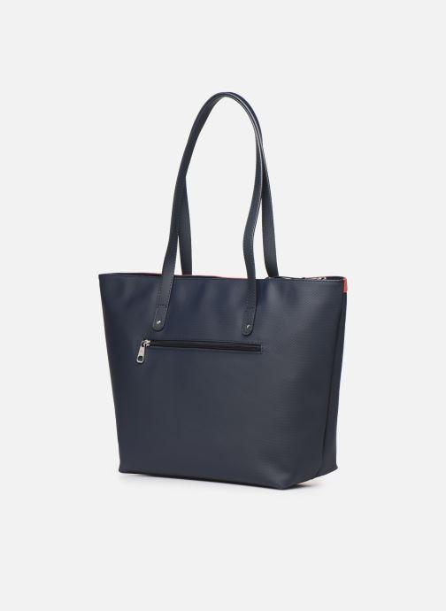 Bolsos de mano Hexagona GRAPHIC SHOPPING BAG Azul vista lateral derecha