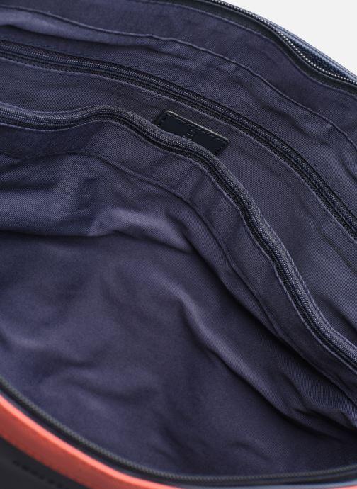 Bolsos de mano Hexagona GRAPHIC SHOPPING BAG Azul vistra trasera