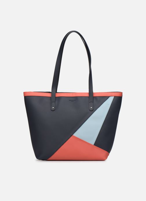 Bolsos de mano Hexagona GRAPHIC SHOPPING BAG Azul vista de detalle / par