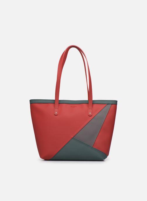 Handtassen Hexagona GRAPHIC SHOPPING BAG Rood detail