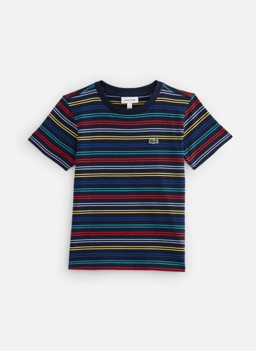 Vêtements Lacoste Tee-Shirt Enfant 1 Multicolore vue détail/paire