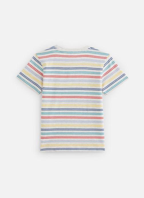 Vêtements Lacoste Tee-Shirt Enfant 1 Multicolore vue bas / vue portée sac