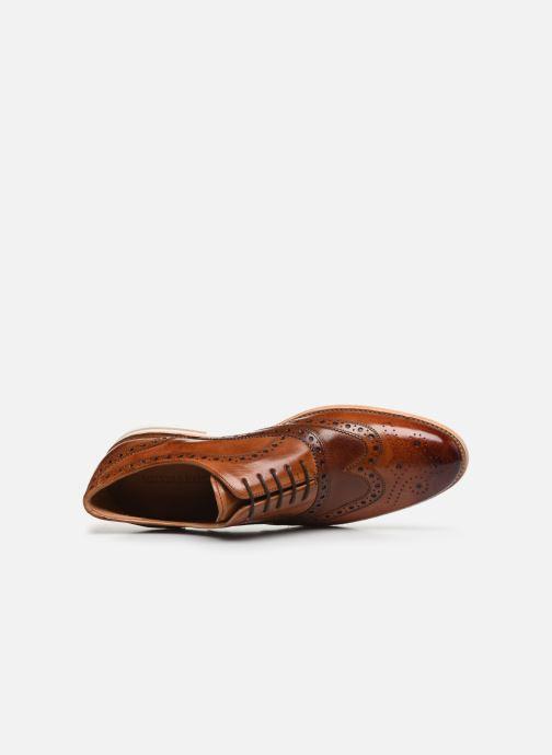 Zapatos con cordones Melvin & Hamilton CLINT 23 Marrón vista lateral izquierda