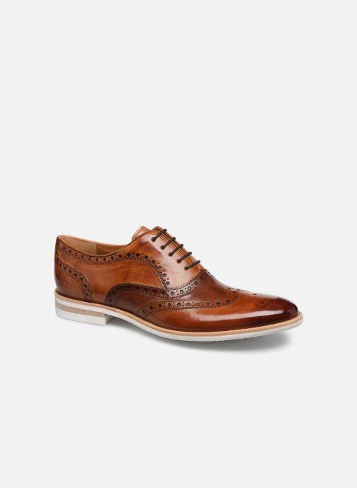 Zapatos con cordones Melvin & Hamilton CLINT 23 Marrón vista de detalle / par