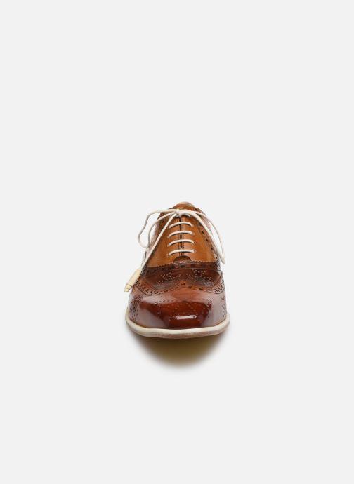 Zapatos con cordones Melvin & Hamilton JEFF 28 Marrón vista del modelo