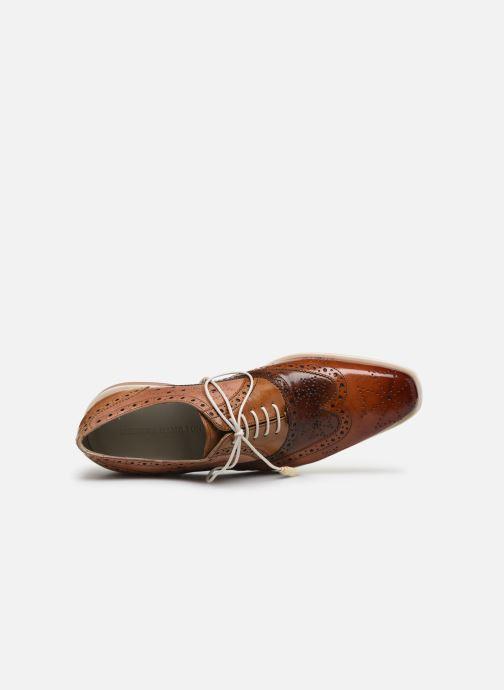 Zapatos con cordones Melvin & Hamilton JEFF 28 Marrón vista lateral izquierda