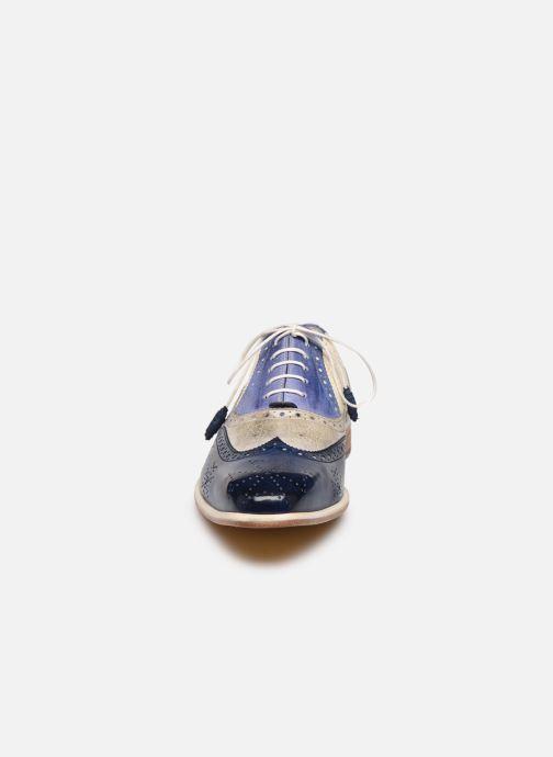Chaussures à lacets Melvin & Hamilton JEFF 28 Bleu vue portées chaussures