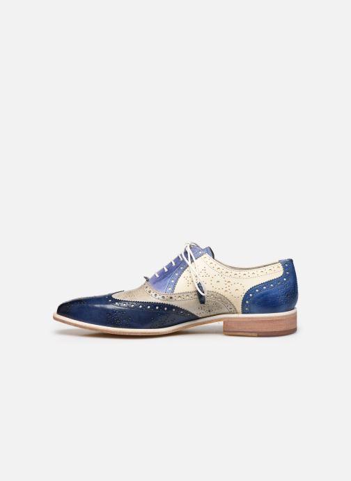 Chaussures à lacets Melvin & Hamilton JEFF 28 Bleu vue face