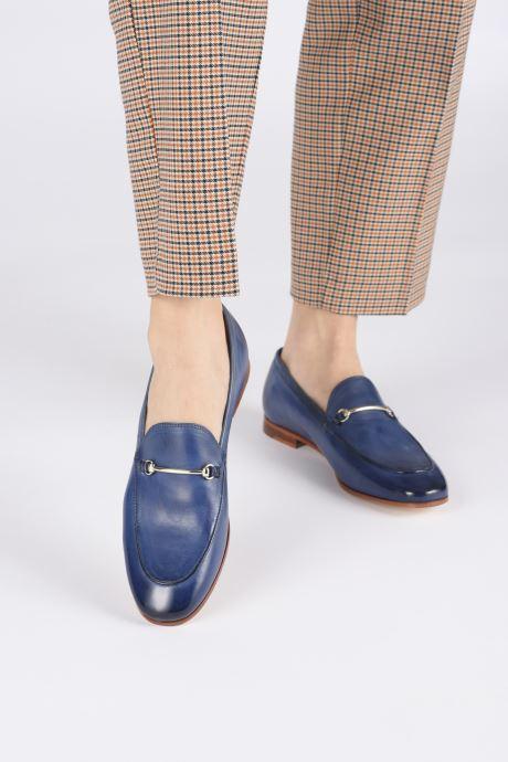 Slipper Melvin & Hamilton SCARLETT 22 blau ansicht von unten / tasche getragen