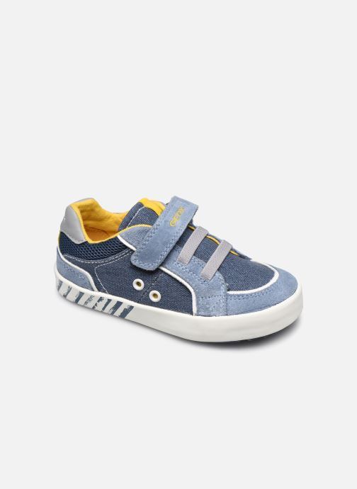 Trainers Geox B Kilwi Boy B02A7B Blue detailed view/ Pair view