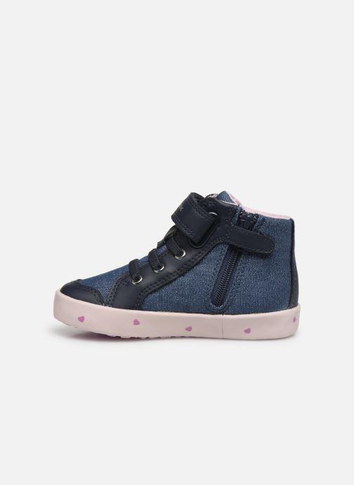 Sneakers Geox B Kilwi Girl B02D5G Blauw voorkant