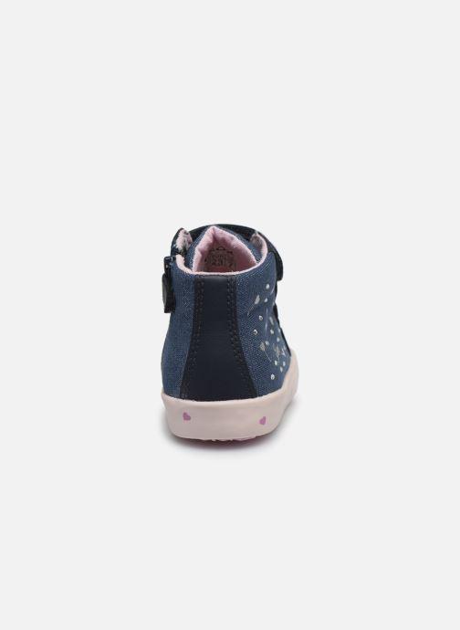 Sneakers Geox B Kilwi Girl B02D5G Blauw rechts