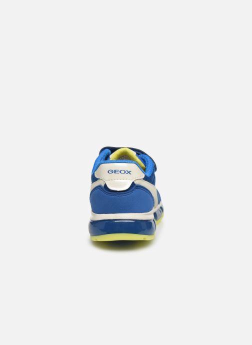 Baskets Geox J Android Boy J0244B Bleu vue droite