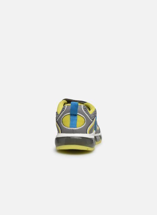 Baskets Geox J Android Boy J0244C Gris vue droite