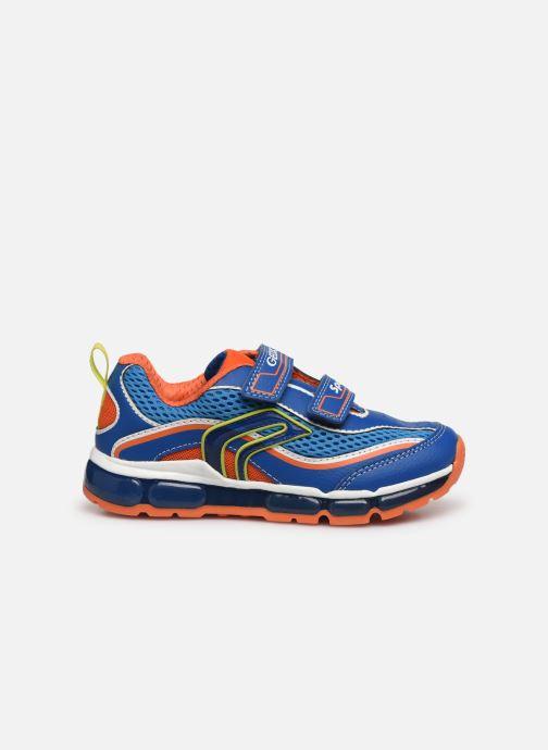 Sneakers Geox J Android Boy J0244C Blauw achterkant