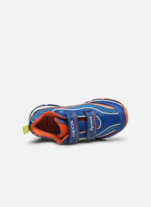 Sneakers Geox J Android Boy J0244C Blauw links